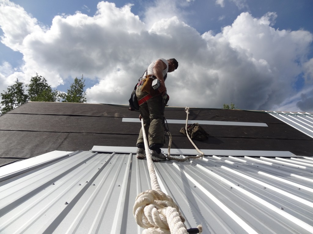 Steel Roofing Contractor And Roof Replacement Fairbanks