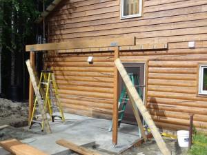 patio and deck Fairbanks Alaska