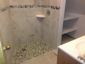 Fairbanks, Alaska, universal design showers and bathrooms