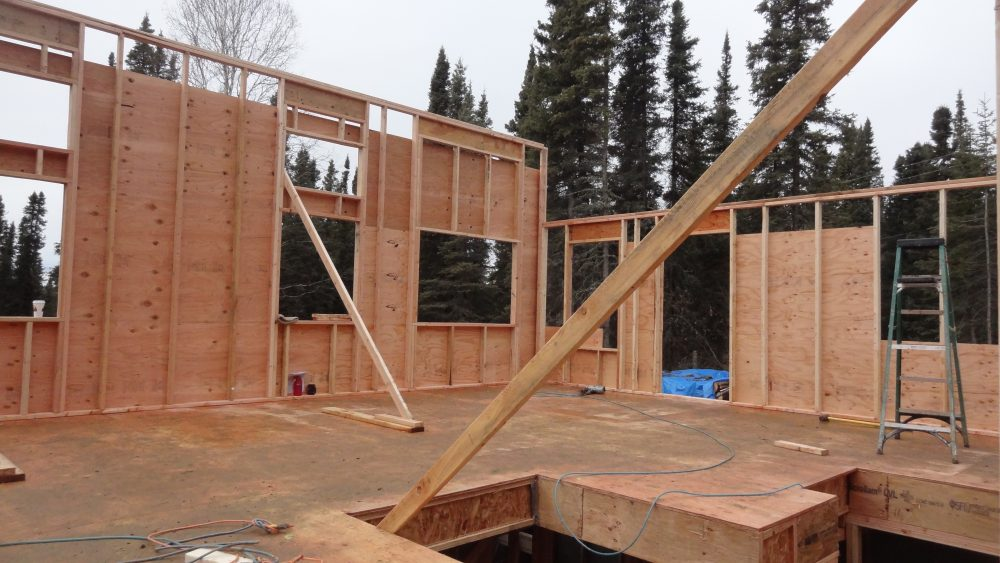 framing homes fairbanks