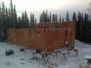 high r-value wall construction fairbanks
