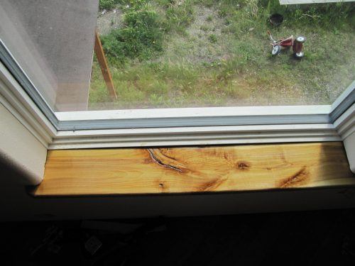 Fairbanks Alaska birch trim