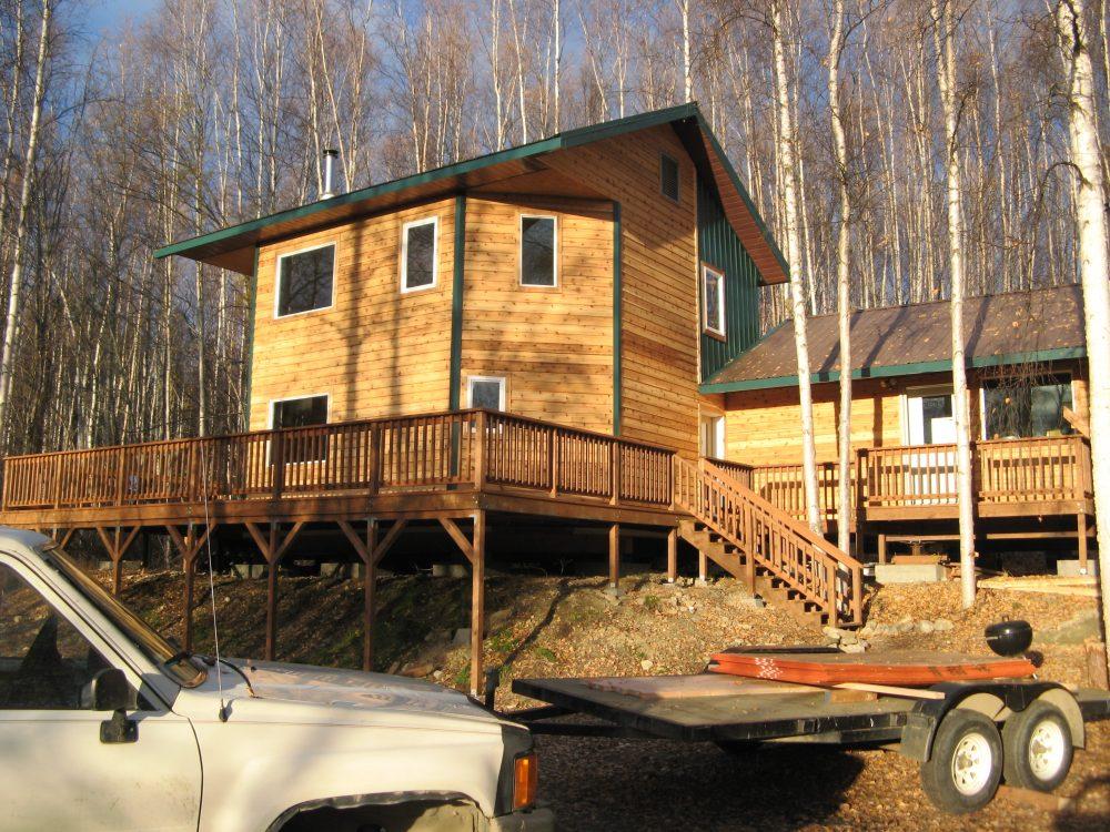 Fairbanks Alaska cedar lap siding