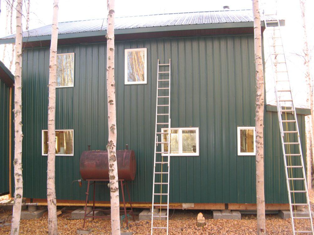 Fairbanks Alaska 5 rib steel siding