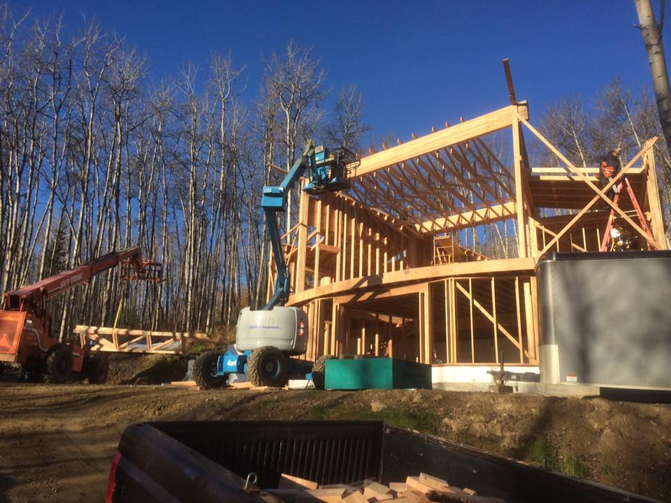 home construction fairbanks