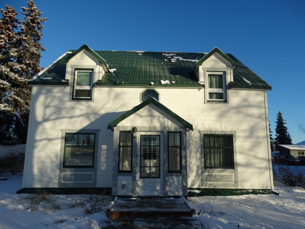 historic home restoration Fairbanks Alaska