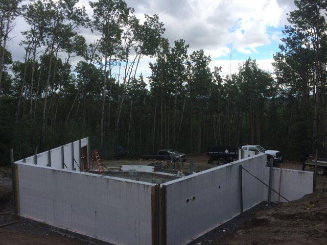 insulated concrete form foundation Fairbanks Alaska